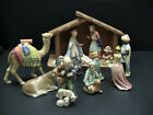 HUMMEL Goebel 14 PC Christmas NATIVITY Set 214 with Creche