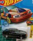 2020 Hot Wheels 92 Ford Mustang SUPER CUSTOM FOXBODY racing stripes real riders
