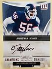2009 National Treasures Lawrence Taylor Auto Autograph 25 99 N.Y. Giants!!