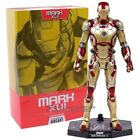 NEW Hot Toys Iron Man Diecast Mark XLII MK42 with LED Light 1 6th Scale Ironman