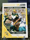 2011 Score #103 Aaron Rodgers Rare Gold Zone Parallel SP Packers!!!
