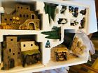Dept 56 Little Town Of Bethlehem Nativity Christmas 12 Piece Set Lighted IOB