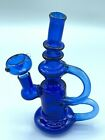 9 Glass Water Pipe Bong Bubbler Heavy Thick Recycle Hookah W Free Shipping