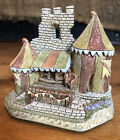 David Winter Cottages The Royal Box King Arthur Collection Original Box D1126