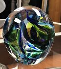 BEAUTIFUL CONTEMPORARY HAND BLOWN STUDIO ART GLASS ARTIST SIGNED EXCELLENT COND