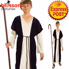 CK1597 Shepherd Boy Nativity Bible Story Child Christmas Religious Costume Robe