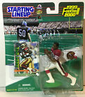 JERRY RICE 1999 STARTING LINEUP SAN FRANSISCO 49ers FIGURES with CARD INCLUDED