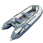 BRIS 98 ft Inflatable Boat Dinghy 4 Person Pontoon Boat Tender Fishing Raft