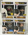 Funko Pop Mad Max Lot of 4 ( Chase - Exclusives)