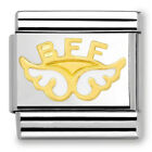 Genuine Nomination Classic Gold Angel of Friendship Charm 030272 32 RRP 22