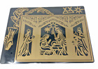 Anna Griffin Nativity Shadow Box Dies 10 Piece Cut And Emboss Dies Set Christmas