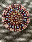 Perthshire Art Glass Paperweight Millefiori  Twisted Canes Design