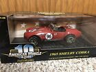 1965 Shelby Cobra Red 118 Ertl American Muscle 32951