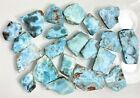 Wholesale Lot 1 Lb Natural Larimar Small Slabs Crystal Healing Energy