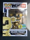 Funko POP! Golden Freddy #119 - Five Nights at Freddy's - SDCC + Protector