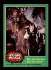 Topps 1977 Star Wars Series Four Complete Set minus #207 (Green - In B 6 - EX MT