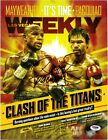 Manny Pacman Pacquiao Signed Magazine Autographed PSA DNA Las Vegas Weekly