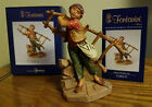 NEW FONTANINI DEPOSE ITALY 5 CARLO NATIVITY FIGURE 57110 Limited Edition 2014