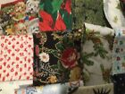 Holiday Christmas Woven Cotton Quilting Fabric Scrap Pack 6 Pounds