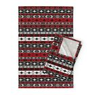 Western Indian Native Ethnic Linen Cotton Tea Towels by Roostery Set of 2