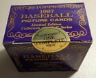 1987 TOPPS TIFFANY FACTORY SEALED 132-CARD TRADED SET