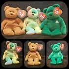 Vintage Rare  Retired Group of 3 TY Beanie Babies  Multiple Tag Errors