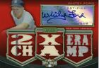 Whitey Ford 2010 Topps Triple Threads Certified Autograph Relic 18 Yankees Auto