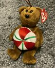 TY Jingle Beanie Baby - YUMMY the Bear (5.5 inch) - MWMTs Ornament Holiday Toy