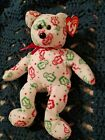 Ty Beanie Baby Christmas Holiday Bear - GINGERSPICE - MWMT