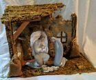 Lladro Nativity Set with Porcelain Madonna Saint Joseph and Baby Jesus