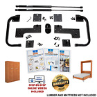 Full Size DIY Murphy Bed Hardware Kit Vertical Wall Mount FREE Fast Shipping