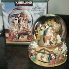 Kirkland NATIVITY Musical Water Globe w Revolving Base Plays Joy to the World