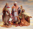 Three Kings Figure Fontanini Set 71187 Nativity 5 Centennial Collection Italy