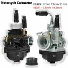 Motorcycle Carburetor 17mm 19mm 21mm Carb For 50cc 70cc 90cc BWS100 Puch Yamaha