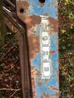 Ford 4600 Tractor Front Loader original Ford May Fit Any four Series