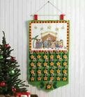 Bucilla Englebreit Child CHRISTMAS PAGEANT Felt Nativity Advent Calendar NEW
