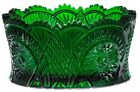 Bowl Diamond Classic Hunter Green Glass Mosser USA