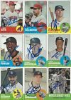 AUTOGRAPH SIGNED 2012 TOPPS HERITAGE CARDS *YOU PICK* *COMPLETE YOUR SET*