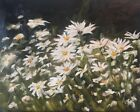 Original Oil Painting by Eleni Dancing with Daisies 16 x 20