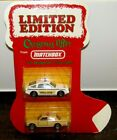Matchbox Superfast Ltd Edition Xmas Stocking Rover 3500  Mercedes 450SEL MIB