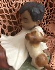 Lladro 2318 Taking Time Mint Condition! Gres Finish!  No Box! Great Gift! L@@k!