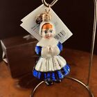 Christopher Radko Handblown Glass Ornament Religious Nun Novitiate Poland