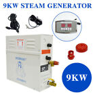 9KW Steam Generator Sauna Bath Home Spa ShowerST 135M Controller