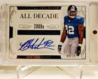 National Treasures All Decade Autograph Michael Strahan 08 25 *2016 SP HOF AUTO
