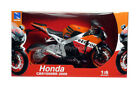 Honda CBR 1000 RR Repsol Fire Blade 16 Scale Die Cast Motorcycle New In Stock