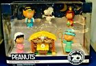 Peanuts Nativity Figures Deluxe Set NIB