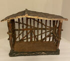 Southern Living At home Santos Nativity Set Stable Crche Manger