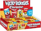2014 TOPPS WACKY PACKAGES CHROME SEALED HOBBY BOX 24 PACKS ORIGINAL 67-73 SERIES