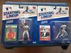 1988 DARRYL STRAWBERRY + 1989 OZZIE SMITH KENNER STARTING LINEUP METS CARDS