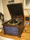 ANTIQUE VINTAGE MELOPHONIC WINDUP PLAYER PHONOGRAPH